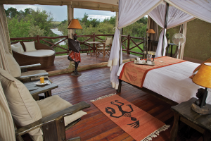 Room Overlooking Mara River