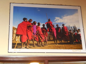 A pic of the Masai